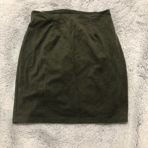Windsor Skirts - Suede skirt